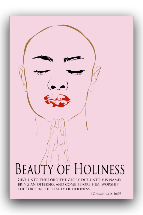 Beauty of holiness  blog